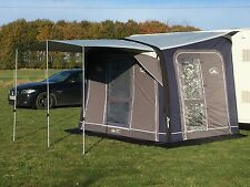 Sunncamp Advance Air Junior 300 Inflatable Caravan Porch Awning with Canopy