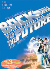 Back to the Future Trilogy (Dvd, 2002, 3-Disc Set) ~101C