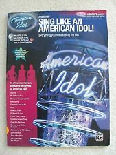 Sing Like American Idol Women's Voice Piano + 2 CDs Unmarked