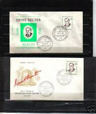 B3051  -  BERLINO 1958 -   ERNST REUTER - LOTTO FDC