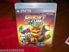 RATCHET AND CLANK: ALL 4 ONE (Sony Playstation 3, 2011) NEW FREE USA SHIPPING