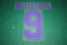 Fiorentina 98/00 #9 BATISTUTA Awaykit Nameset Printing
