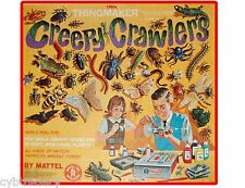 1960's Era  Vintage Creepy Crawlers Toy Refrigerator / Tool Box Magnet