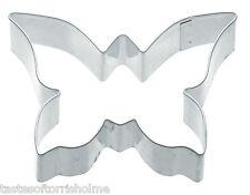 Kitchen Craft forma de mariposa 7.5cm galleta, pastelería, Cortador galletas