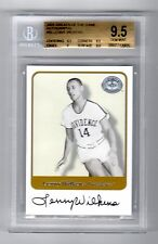 LENNY WILKENS Auto graph 2001 GREATS of the GAME  BGS 9.5 /10 Pop.1