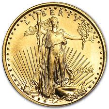 1996 1/10 oz Gold American Eagle Coin