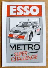 Esso Metro 6R4 Super Challenge Rally / Race / Motorsport Sticker Decal