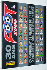 ALBUM VIERGE PANINI FOOT 2006 FOOTBALL EMPTY LEER NEUF FRANCE 2005-2006 30 ANS