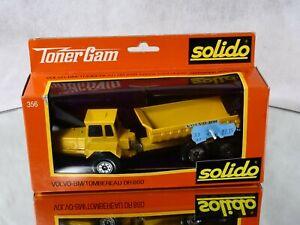 Solido N°356 Volvo-Bm/Dumper DR860 IN Box 1/43