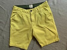 Boden Boys Mini Shorts Chino Gelb 15y Ca. 165-170 Cm