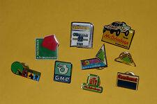 9 PINS MAGASINS BRICOLAGE & JARDINERIE : LEROY-MERLIN, CASTORAMA, MR BRICOLAGE