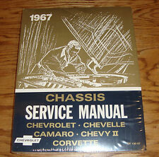1967 Chevrolet Chassis Shop Service Manual 67 Chevy II Chevelle Corvette Camaro
