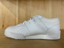 REEBOK CLASSIC WORKOUT LEATHER LOW WHITE KIDS JUNIOR GS 5.5 - 6 Y  72-136186