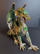 "Green Dragon with Diamond Faux 8"" 71273"