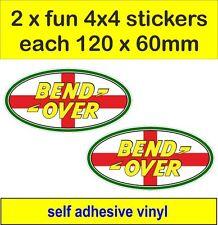 2 OFF ROAD 4X4 divertenti adesivi grafiche Inghilterra Decalcomanie LAND ROVER DEFENDER DISCOVERY