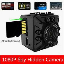 Mini HD 1080P Spycam Camera Night Vision Video Recorder Motion Detection Cam DVR