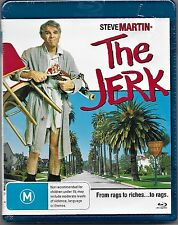 The Jerk Blu Ray New (Steve Martin, Bernadette Peters) Region B Free Post