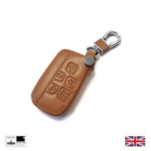 Leather Luxury Smart Key Cover For Range Rover Sport HSE Velar Vogue