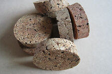 """Large Tapered Cork Bung Stopper Bottle Storage Jar Lid size 36 37 108 mm 4"""" R"""