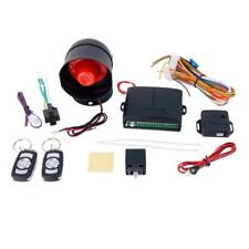Car Alarm Protection Security System Keyless Siren with 2 Remote Control