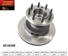 Disc Brake Rotor fits 2008-2014 Ford E-350 Super Duty  BEST BRAKES USA