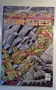Tales of the Teenage Mutant Ninja Turtles #5 Mirage Studios (1988) Comic Book