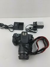 Canon EOS Rebel T3i / EOS 600D 18.0MP Digital SLR Camera Kit Charger Len 18-55mm