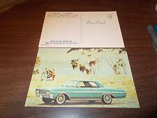 1964 Buick Skylark Advertising Postcard