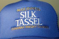 McGuinness Silk Tassel Canadian Whisky Canadien Beer Hat Cap Snapback