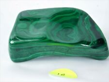 18M) Green Polished Banded Malachite Crystal / Mineral Congo Copper