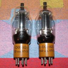 M.P. JAN-CKR-1625 KEN-RAD VT-136 FAMILY 807 6L6G KT66 NOS 1944 RARE GREAT SOUND!