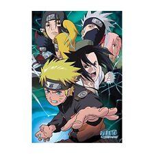"""Naruto Team 7 Poster 24"""" x 36"""" Anime Manga Sakura Sasuke Kakashi Itachi"""