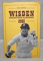 Wisden Cricketers' Almanack 2003 - Hardback