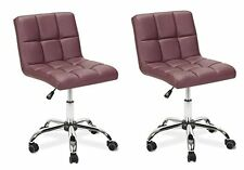 "Duo TOTO Burgundy Chair 19""-25"" Pet Grooming Stool Vet Stylist Chair w/ Backrest"