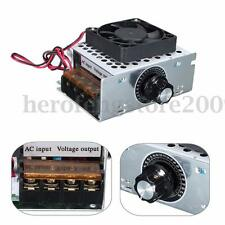 AC 220V 4000W SCR Variable Voltage Regulator Motor Speed Control Controller Fan