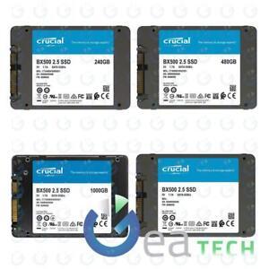 "Crucial SSD Interno BX500 2,5"" 240GB 480GB 1TB 2TB fino a 540 MB/s Stato Solido"