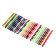 30Pcs Colorful Hot Melt Glue Heating Pistol Adhesive Sticks DIY Art 100 x 7mm