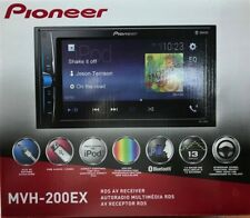 Pioneer - MVH-200EX - Double DIN Bluetooth In-Dash Digital Media Car Stereo