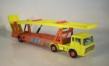 MATCHBOX Kingsize k-11b DAF CAR TRANSPORTER auto Transporter n. 1 #6100