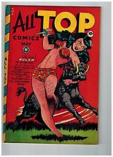 All Top Comics # 11 NM- 1948 Fox Features Syndicate Golden Age Comic Book JJ1