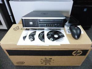 HP Compaq 6005 Pro USDT 160GB HDD Win 7 Pro Power Adapter Recovery Discs Bundle