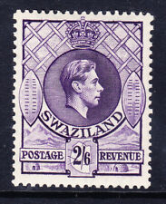 More details for swaziland george vi 1938 sg36 2/6 perf 131/2 x 13 - mounted mint. catalogue £35