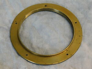 Brass Lens Flange 19th Century For Dag & Wet Plate Lenses 102mm