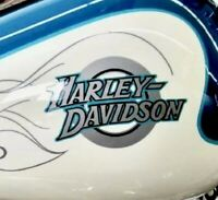 Pair 2001 Harley FXDWG Dyna Wide Glide Gas Tank Decals OEM Part 13612-01 x 2 NEW