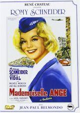 "Romy Schneider-  JEAN PAUL BELMONDO  "" Mademoiselle ange "" DVD NEUF RENE CHATEAU"