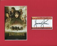 Howard Shore The Lord of the Rings Composer Rare Signed Autograph Photo Display