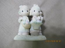 Precious Moments-To My Forever Friend- 2 Girlfriends w/Baskets Of Flowers 100072