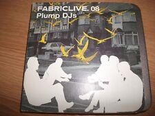 Various Artists : Fabriclive 08: Plump DJs CD (2003)