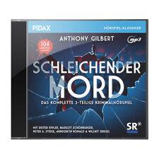 Schleichender Mord * CD Krimi Hörspiel von Anthony Gilbert * Pidax Neu