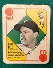 1951 Topps Red Backs Baseball Cards 25